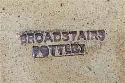 Pentagonal Broadstairs dish (mark)