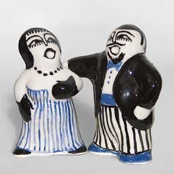 Bernard Moss operatic couple