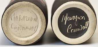 Marazion cylinder vases (bases)