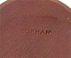 Cobham coronation dish (mark)