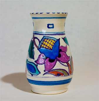 Honiton Jacobean vase