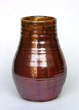 Brown Candy vase