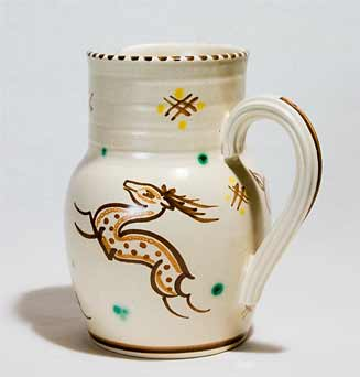 Honiton deer jug
