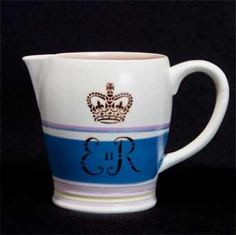 Poole Coronation jug