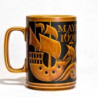 Hornsea Mayflower tankard