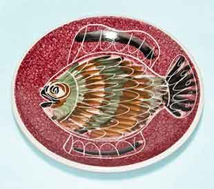 Red Jo fish dish