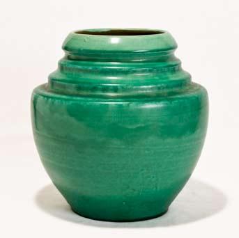 Green Brannam vase
