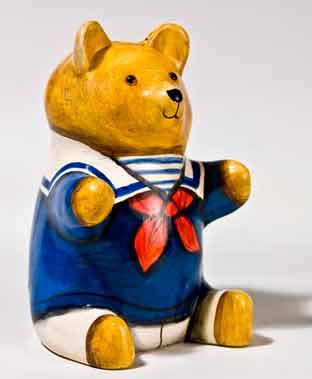 De Bethel sailor bear