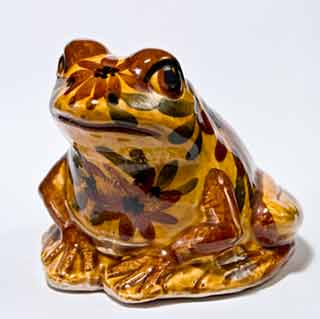 Brown Chelsea frog