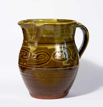 David Leach slipware jug II