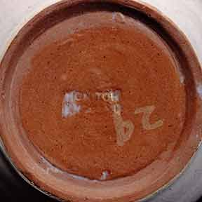 Honiton No. 29 jug (marks)