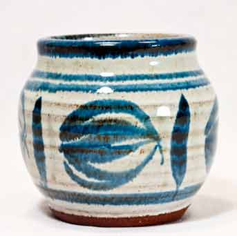 Blue Aylesford pot