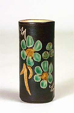 Small cylindrical Marazion vase
