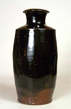 Tall Pearson bottle vase