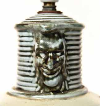 Denby Tally Ho lamp (detail)