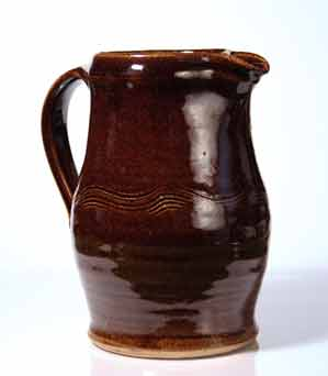 Brown Scott Marshall jug