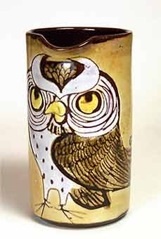 Large Chelsea owl jug