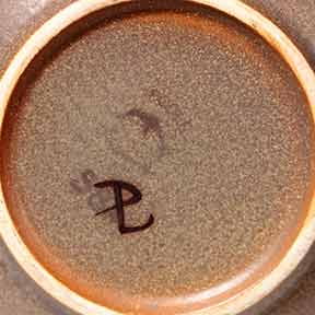Poole Sienna bowl (marks)