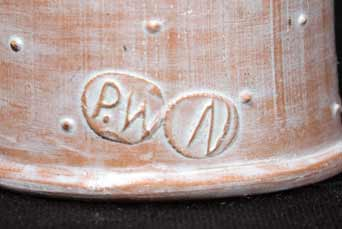 Philip Wood fox eggcup (marks)