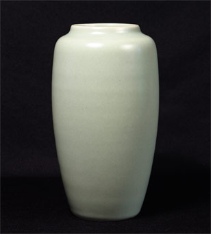Agnete Hoy celadon vase