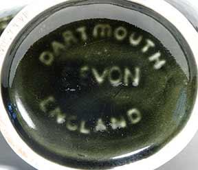Dark green Dartmouth gurgle fish (mark)