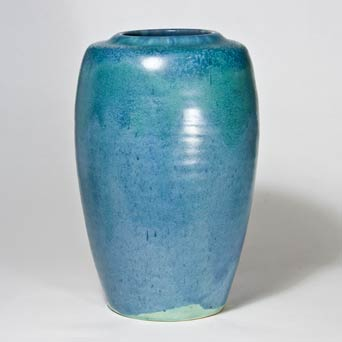 Blue Upchurch vase