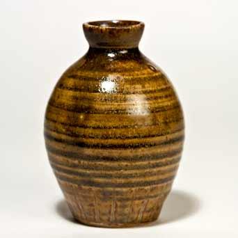 Brown Yelland vase