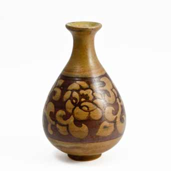 Brown Donald Mills vase
