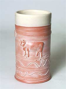 Philip Wood cylinder vase