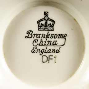 Large Branksome vase (mark)