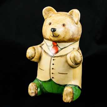 De Bethel beige-jacket bear