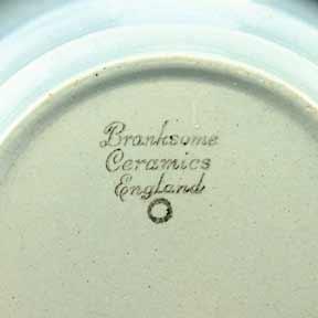 Blue Branksome coffee pot (mark)