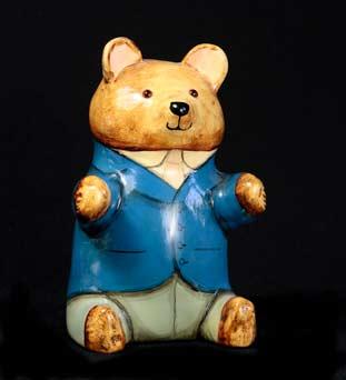 Blue blazer de Bethel bear