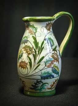 Glyn Colledge leaf jug